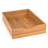 Howards Bamboo Stackable Drawer Organiser - 22 x 31 x 6.4cm