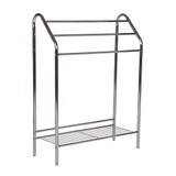 Howards Towel Stand with Shelf