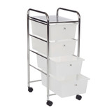 Howards 4 Drawer Storage Trolley