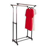 Howards 2 Rod Garment Rack