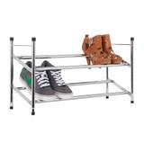 Howards Extendable Shoe Rack - 2-Tier