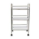 Howards 3 Tier Chrome Shelf Trolley