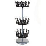 Howards 3 Tier Revolving Shoe Tree - 18 Pairs