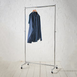Howards Heavy-Duty Garment Rack - Chrome