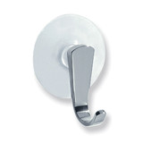 iDesign Suction Cap Chrome Hook