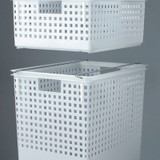 Like-It Stackable Multipurpose Basket Small - White