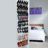 21 Pair Shoe Rack - White