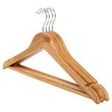 Howards Timber Hanger 4 Pack - Natural