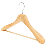 Howards Timber Wide Shoulder Hanger - Natural