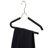 Howards Foam Shirt & Pant Hanger 2 Pack - Black