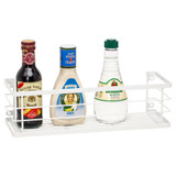 Howards Powder Coated Wire Wall Mountable Bottle Rack Medium - White
