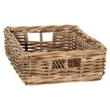 Rattan Rectangular Storage Basket - Medium