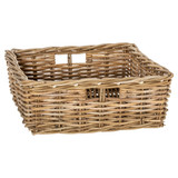 Rattan Rectangular Storage Basket - Large