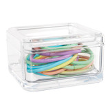 Acrylic Small Square Trinket Box