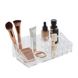 Acrylic Cosmetic Organiser - 17 Compartments