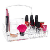 Acrylic Mirrored Cosmetic Organiser