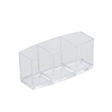 Acrylic Cosmetic Organiser - 3 Compartments