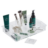 Acrylic Cosmetic Tray - 10 Compartments