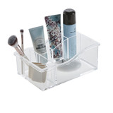 Acrylic Cosmetic Organiser - 6 Compartments