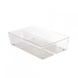 iDesign Linus Medium Sized Twin Drawer Organiser