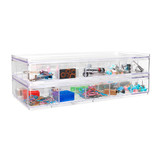 Howards Stackable Organiser 15 Compartments Deep - Clear