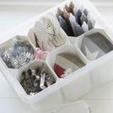 SmartStore Insert 15 Organiser 1 Compartment - White
