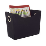 Howards Black Storage Tote - Slim