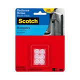 Scotch Self-Stick Rubber Pads Clear 18 Pack