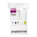 simplehuman Bin Liner 30L Code G - 20 Pack