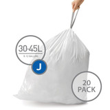 simplehuman Bin Liner 30-45L Code J - 20 Pack