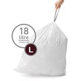 simplehuman Bin Liner 18L Code L - 60 Pack