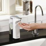 simplehuman Compact Sensor Soap Pump Dispenser - White