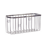 iDesign Stainless Steel Rectangle Suction Basket