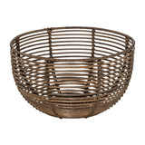 Howards Poly Rattan Round Bowl 28cm - Small