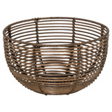 Howards Poly Rattan Round Bowl 32cm - Medium