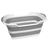 Collapse-A Multi-Purpose Tub 27L - Grey & White