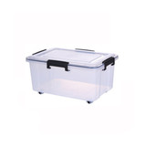 Super Seal Storage Box with Wheels 15L