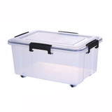 Super Seal Storage Box with Wheels 50L