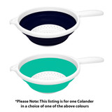 Collapse-A Round Colander with Handle - Assorted