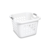 Sterilite Ultra Laundry Basket Square 53ltr White