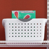 Sterilite Large Ultra Basket White