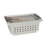 Sterilite Small White Stacking Basket