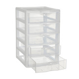 Sterilite Clearview Small 5 Drawer Unit