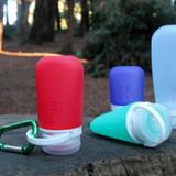 GoToob+ Travel Bottles Medium 74ml 3 Pack - Assorted