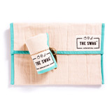 The Swag Produce Storage Bag Small - Aqua Trim