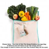 The Swag Produce Storage Bag Large - Natural Trim