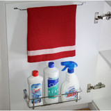 Tansel Door Mount Single Tea Towel Rack - Stainless Steel