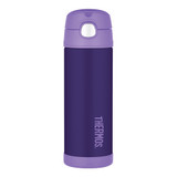 Thermos Funtainer Insulated Vacuum Bottle - 470ML Purple