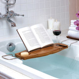 Umbra Aquala Bamboo Bath Caddy