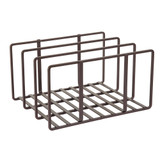 Burnt Steel Board Holder - Bronze